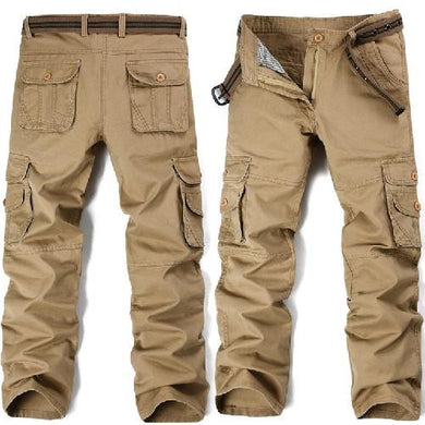Big Pockets Khaki Cargo Pants (3 Colors - 9 Sizes)  - Kwikibuy Amazon Global