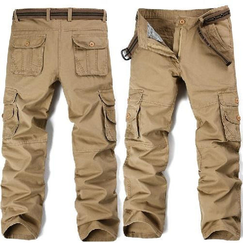 Big-Pockets-Cargo-Pants-Khaki  - Kwikibuy Amazon Global
