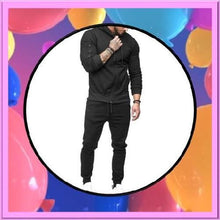 Load image into Gallery viewer, Black-2-Piece-Hoodie-Set  - Kwikibuy Amazon Global