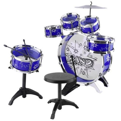 Drum Set (Blue Deluxe)  - Kwikibuy Amazon Global
