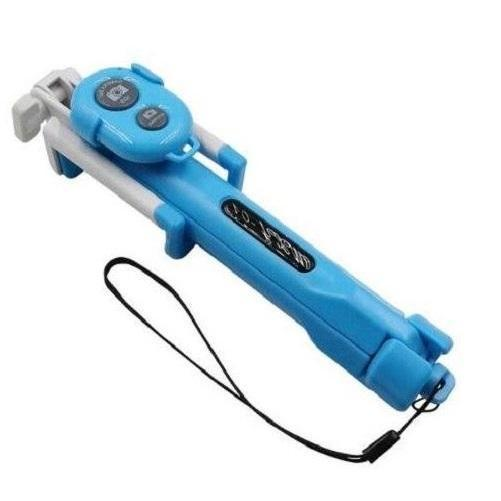 Bluetooth Selfie Stick and Tripod with Remote (Blue) | Kwikibuy Amazon | United States
