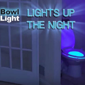 LED Motion Activated Toilet Night Light with UV Sterilization  - Kwikibuy Amazon Global