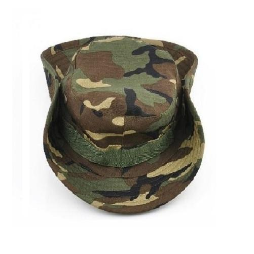 Military Boonie Bucket Drawstring Hat (Green Camouflage) - Kwikibuy Amazon