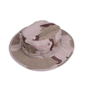 Military-Boonie-Bucket-Drawstring-Hat-Khaki-Camouflage  - Kwikibuy Amazon Global