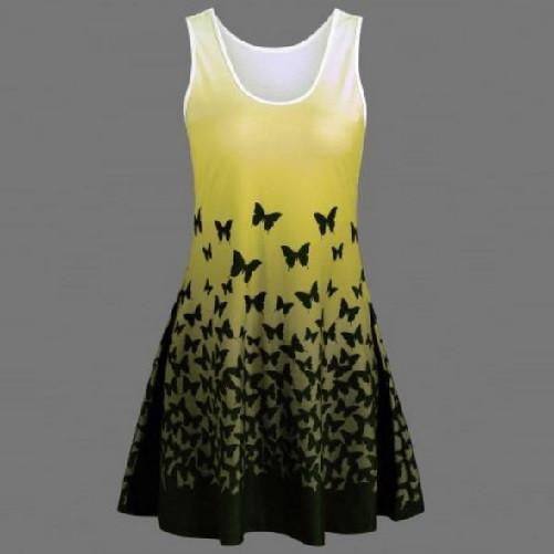 Tank Dress  $29.99 Yellow - Kwikibuy.com™®