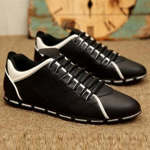 Canvas Sneakers (Black) | Kwikibuy Amazon Global | United States | All | Men | Breathable | Leather | Sneakers | Dress | Shoes