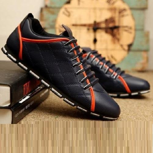 Canvas Sneakers (Navy Blue) | Kwikibuy Amazon Global | United States | All | Men | Breathable | Leather | Sneakers | Dress | Shoes