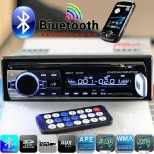 Bluetooth Hands-free In-Dash Car Stereo FM Radio MP3 Audio Player  - Kwikibuy Amazon Global