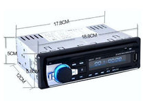 Load image into Gallery viewer, Bluetooth Hands-free In-Dash Car Stereo FM Radio MP3 Audio Player  - Kwikibuy Amazon Global