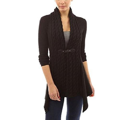Cardigan Long Sleeve Sweater (Black)  - Kwikibuy Amazon Global
