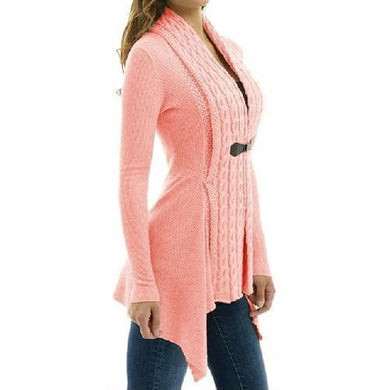Cardigan Long Sleeve Sweater (Pink)  - Kwikibuy Amazon Global