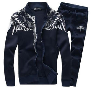 Cardigan Sports Suit (Blue)  - Kwikibuy Amazon Global