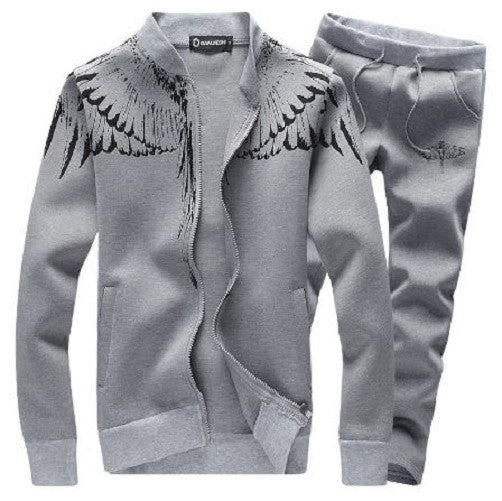 Cardigan Sports Suit (Grey)  - Kwikibuy Amazon Global