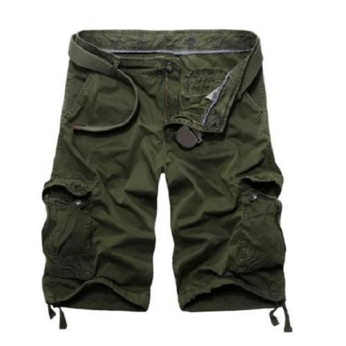 Casual Loose Fit Army Green Cargo Shorts $29.99 - Kwikibuy™®