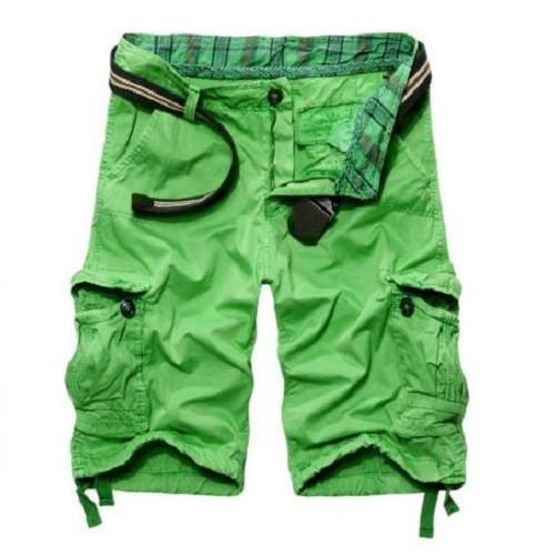 Casual Loose Fit Apple Green Cargo Shorts $29.99 - Kwikibuy™®