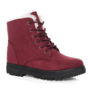 Classic-Snow-Boots-Red  - Kwikibuy Amazon Global