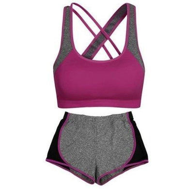 Criss Cross Crop Top and Leggings Set (5 Colors - 2 Sizes)  - Kwikibuy Amazon Global