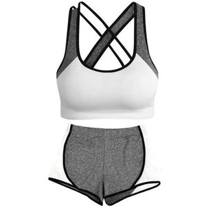 Criss-Cross-Crop-Top-and-Leggings-Set-White  - Kwikibuy Amazon Global