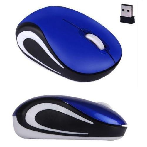 Mini 2.4 GHz Wireless Optical Mouse (Blue) - Kwikibuy.com Official Site©