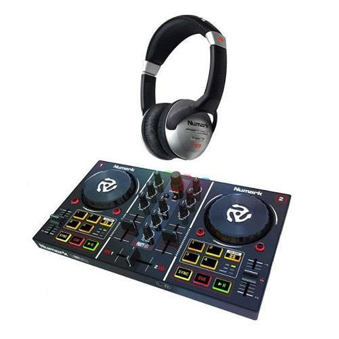DJ Controller with Built-in Light show w/ Free Headphones | Kwikibuy Amazon | United States