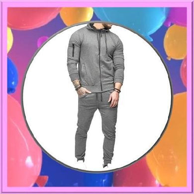 Dark-Grey-2-Piece-Hoodie-Set  - Kwikibuy Amazon Global