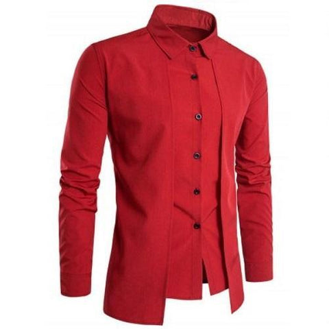 Shop-Now-Designer-Double-Panel-Long-Sleeve-Shirt-Red-Kwikibuy.com-All-Men-Clothing-Dress-Shirts-Tops