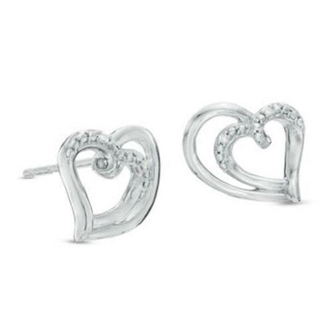 Shop-Now-Diamond-Accent-Double-Loop-Heart-Stud-Earrings-Women-female-Kwikibuy.com