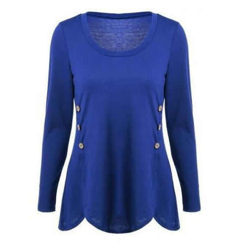 Button Blouse $20.17 - God Degree Clothing And Accessories™® - GD's™®