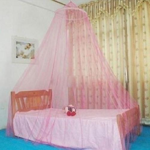 Mesh Mosquito Netting Bed Canopy (Pink) | Kwikibuy Amazon | United States | Bedding | Mosquito Nets | Screens | Zeka | West Nile | Chikungunya | Virus | Protection | Repellent