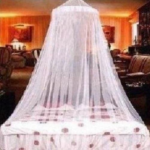 Mesh-Mosquito-Netting-Bed-Canopy-White  - Kwikibuy Amazon Global