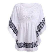 Load image into Gallery viewer, Lace Batwing Sleeve Blouse  - Kwikibuy Amazon Global