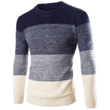 Load image into Gallery viewer, Fashion Pullover Long Sleeve Sweater (2 Colors - 4 Sizes) - Kwikibuy Amazon Global 2 Colors: Navy Blue or Red 4 Sizes: Medium, Large, X-Large or 2X-Large