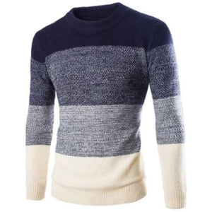 Fashion Pullover Long Sleeve Sweater (2 Colors - 4 Sizes) - Kwikibuy Amazon Global 2 Colors: Navy Blue or Red 4 Sizes: Medium, Large, X-Large or 2X-Large
