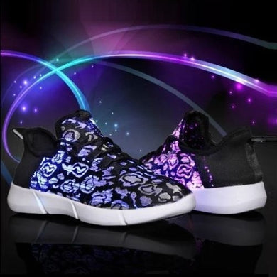 Fiber Optic Sneakers (30 Sizes - 4 Colors) - Kwikibuy Amazon Global
