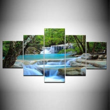 Load image into Gallery viewer, 5 Panel Framed Wall Art (Planet Earth)  - Kwikibuy Amazon Global