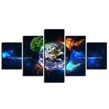Load image into Gallery viewer, 5 Panel Framed Wall Art (Nature) - Kwikibuy Amazon Global Custom or *7) Styles 5 Panel Framed Ready to hang Wall Art Artwork: Oil Painting
