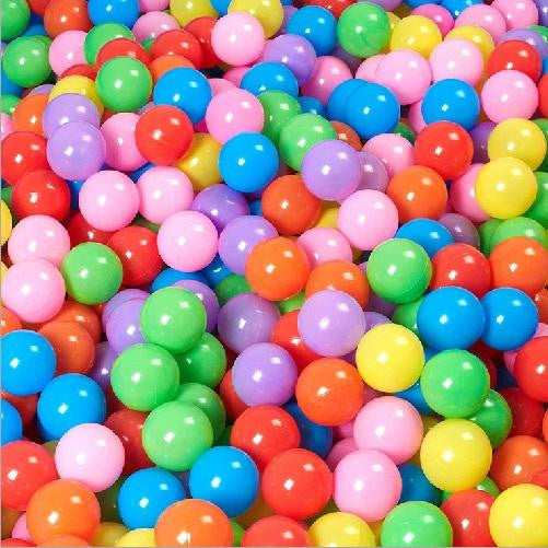 200 Ocean Balls 5.5 cm / 2.1 inches (Multi-Colored) | Kwikibuy Amazon | United States