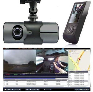 GPS G-Sensor Night Vision HD Dual Lens DVR Dash Cam - Kwikibuy Amazon Global