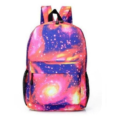 Galaxy Backpack (Red) - Kwikibuy Amazon Global 2 Color: Blue or Red Pattern Type: Galaxy Materials: Canvas Size: (Approx) Width 34 cm, Thickness 14 cm