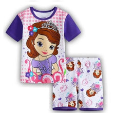 Load image into Gallery viewer, Cartoon Tracksuit Sleepwear Set (Multiple Colors - 6 Sizes) - Kwikibuy Amazon Global