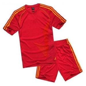 Breathable Sport Short Sets (Red)  - Kwikibuy Amazon Global