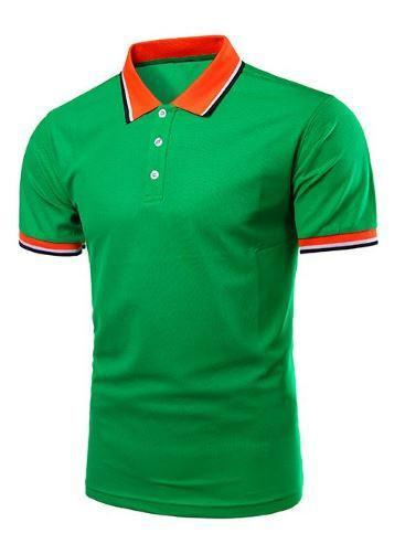 Short Sleeve Polo Shirts (Green) - Kwikibuy Amazon