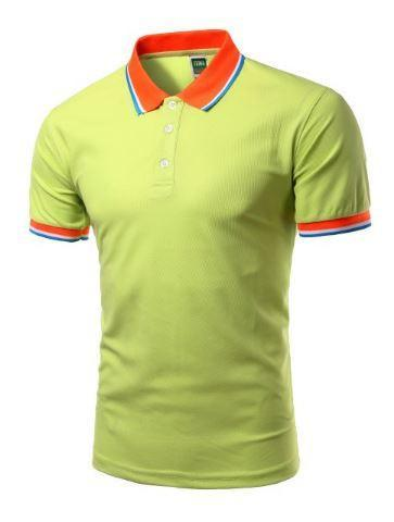Short Sleeve Polo Shirts (Earthy) - Kwikibuy Amazon