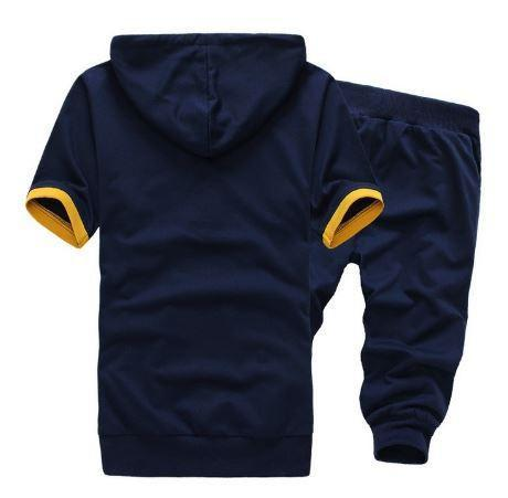Soft Hoodie Short Sets $34.99 Blue Yellow - Kwikibuy.com™®