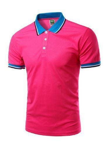 Short Sleeve Polo Shirts (Rose) - Kwikibuy Amazon