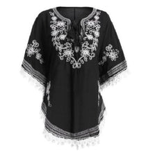 Load image into Gallery viewer, Bohemian Batwing Sleeves Embroidery Blouse  - Kwikibuy Amazon Global