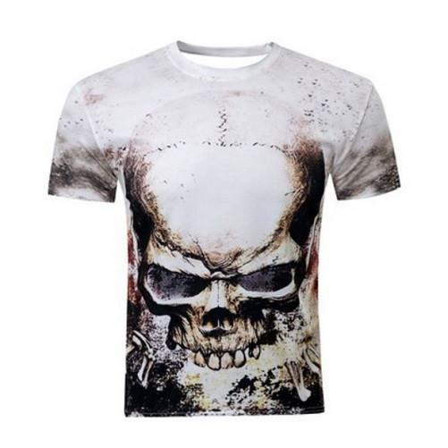 Harold Skull 3-D Printed T-Shirts | Kwikibuy Amazon | United States