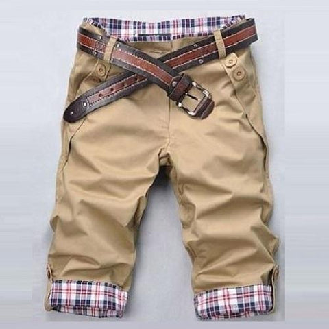 High-Quality-Short-Pants-Khaki  - Kwikibuy Amazon Global