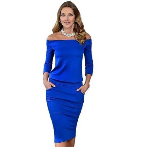High Quality Elegant Dress $39 (Blue) - Kwikibuy.com™® Official Site