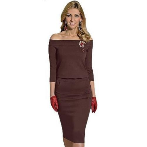 High Quality Elegant Dress $39 (Coffee) - Kwikibuy.com™® Official Site